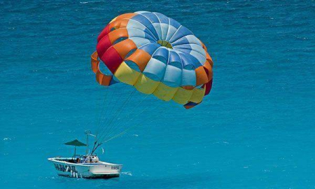 Reef Adventure and Parasailing Combo Tour at Maroma Adventures