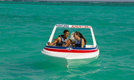 Speed Boats at Maroma Adventures