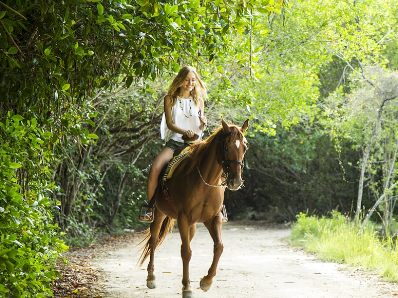Maroma Horse & Hat Jungle trail