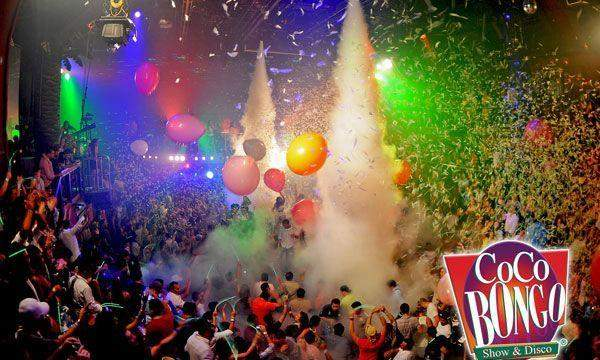 Coco Bongo Playa del Carmen/Open Bar/Mon, Tue, Thur, Fri